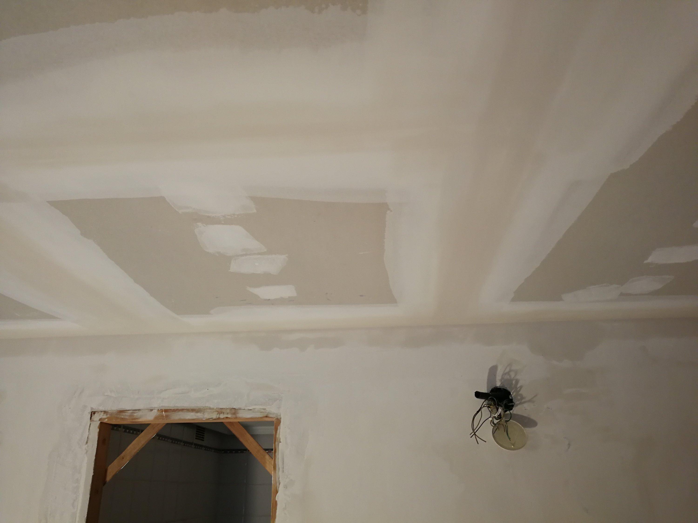 Attrayant Terminando De Bajar Los #techos De #pladur En La #vivienda Que Estamos  Reformando En #Donostia